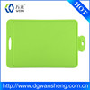 factory silicone cutting board/newest design plastic cutting board/kitchen chopping board