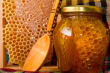 Plate Honey flower honey %100 Natural