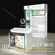 Customized unique Cosmetic Display Stand/cabinet professional factory directly new design for shop/hall/ supermaket