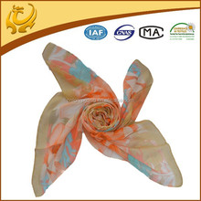 Factory In China Feeling Good China Wholesale Chiffon Printed Japanese Silk Pattern Scarf Japanese Silk Scarf