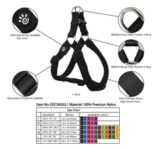 High Quality Nylon Dog Harness and Leash