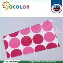 lovely Printed Waterproof Laminated Cotton Fabric for bag raincoat tablecloth