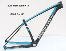 "2015 year New carbon 29er mtb bicycle frame 15.5"" 17"" 18.5"" 20"""
