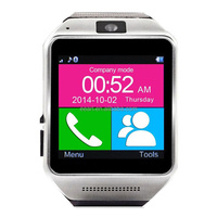 New fashion hot sell 1.54 inch high quality MTK6260A GV08 phone TF card SIM card smart watch 2015