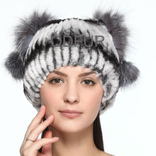 QD70098-2 new 2014 rabbit fur fashion latest design headgears & hats for women dress accessories