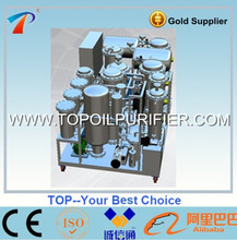 Degenerated diesel oil reclamation plant with disitllation system,rapidly to separate water,colloid,oxdie,acid,pitch