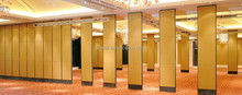 Restaurant Interior Design movable partition wall
