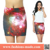 2015 3D Digital Printed wrapped skirts for sale