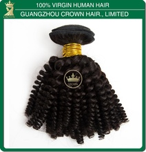Wholesale good quality free tangles fake black with curly hair