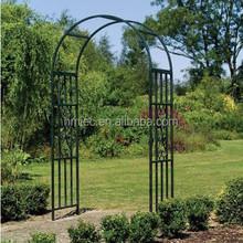 Green Color Wrought Iron Garden Arch