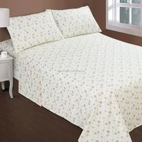 Reactive printing cotton bedding sheet set