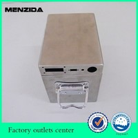 tin box with handle metal box with latch hinged box with lock