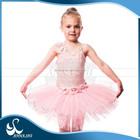 Anna SHI 2012 novo design azul e branco lovely kids ballet tutus crianças vestido de festa