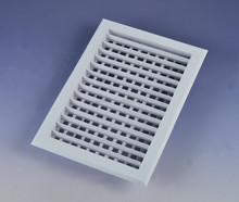Plastic supply air grille/return air grille for air conditioning