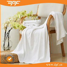 Popular Top quality india cotton towels double loop terry bath towels