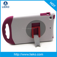 Combo stand Silicone +PC tablet case for iPad mini