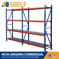 cheap metal light duty warehouse shelving