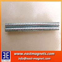 little small ndfeb magnet for sale/nickle plated small disc neodymium magnet for sale