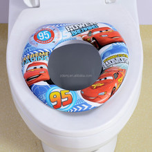 Factory selling lovely cartoon design soft baby/kids/ toilet seat cover