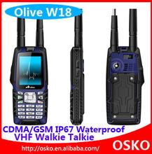 2.4 inch Olive W18 cdma450+gsm 850/900/1800/1900mhz gsm cdma dual sim dual standby mobile phone
