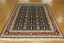 Special Offers 5.5x8 Pure Silk Handmade Baby Nursery Flooring Carpets And Rugs 2014