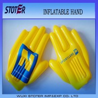 promotional custome cheer giant inflatable PVC cheap hand