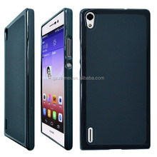 For Ascend P7 Cover,New Rubber Back Cover Case For Huawei Ascend P7,High Quality