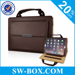 Tablet briefcase felt tablet bag leather tablet briefcase
