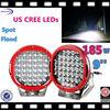 import factory 24v 185w led light work 5w chip led led driving light 9' led car light