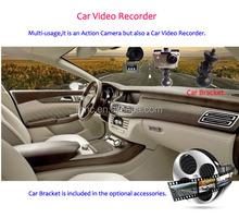 Car DVR Camera With 16Mega Pixels , Support MOV H.264 Format