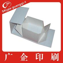 OEM fancy white cardboard foldable paper box for gift&packaging