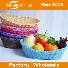 China factory direct wholesale Bread displaying customized size storage basket plastic