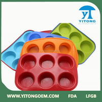Hot Selling Factory Custom Silicone Rubber Bake Folding Cake Cup New Product