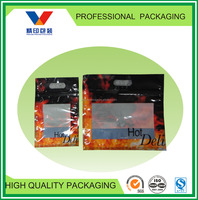 resealable plastic bags for food/fried chicken/ ziplock with custom printing