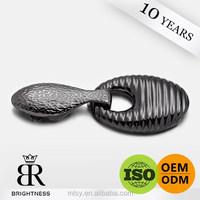 Gun metal exquisite bracelet belt buckle backs for women Brightness G1-80025