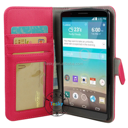 Book Style Leather Case for LG G4,For LG G4 Leather Case