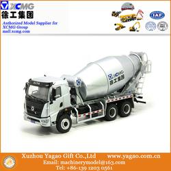 1:24 Scale Diecast Construction Car Model, XCMG Concrete Mixer Truck Scale Model