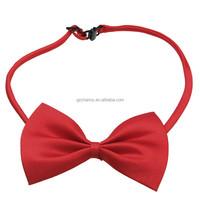 New European Style Polyester Cotton Pet Bow Tie Bowknob Cats Dogs Dress Necktie Party Puppy Beauty Ornament Color Random