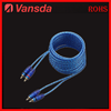 chian supply High grade 5m red car audio RCA Cable