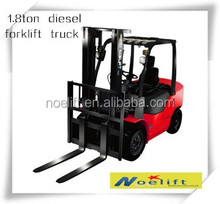 Noelift brand counterbalance 1.8ton diesel forklift truck with Japanese engine for Australia market