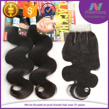 closure brazilian weave/light brown lace closure/ swiss lace closure