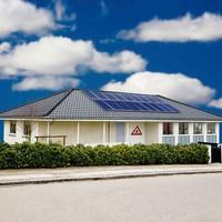 Hanergy solar power utilities supply 2kw residential solar panel