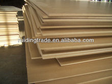 12mm Pine MDF board for Furniture from Shandong Province
