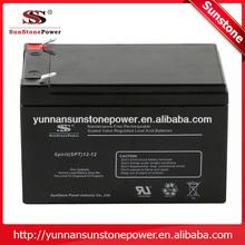 High Quality AGM standby UPS battery Lead Acid SPT12v 5ah UPS battery