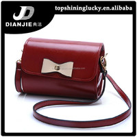 New model woman handbag hot sale shoulder bag bowknot sling bags for women