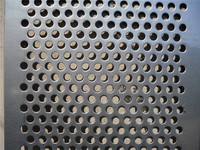 best supplier Decorative Perforated Metal For Cabinets/3 mm Stainless Steel Perforated Metal Screen Sheet (Direct Factory)