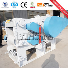Drum Wood Chipper to crusher wood log into wood chips