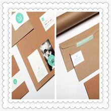De regalo de papel sobre/personalizado sobre de papel con la impresión de imágenes