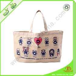 For Shopping Or Travel Carry Canvas Bag Factory Canvas Mock Up Shopping Bag