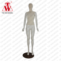 Factory price lady full body with wooden arm windows model